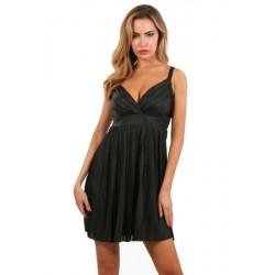 Robe Glamour Noire Spazm