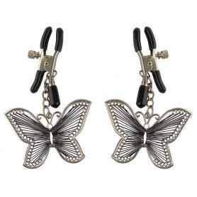 Pinces à Tétons Papillons Fetish Fantasy