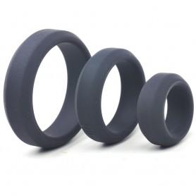 Cockring Triple Loopy Noir