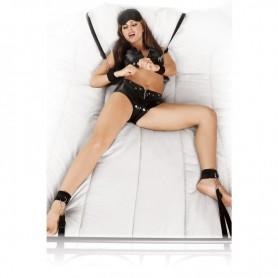 Attache Lit Bed Bindings Fetish Fantasy