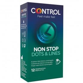 Préservatifs Control Non Stop x12