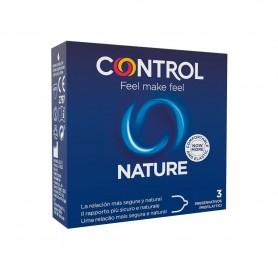 Préservatifs Control Nature x3