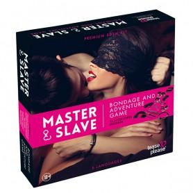 Jeu de Bondage Master & Slave Tease & Please