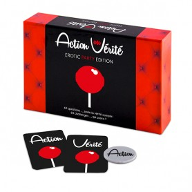 Jeu Coquin Action ou Vérité Erotic Party Tease & Please