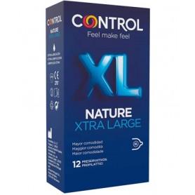 Préservatifs Nature XTRA Large Control x12