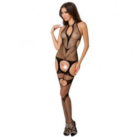 Bodystocking Noir BS053 Passion Woman