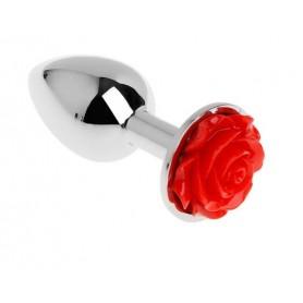 Plug Anal Bijou Fleur Rouge