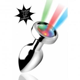 Plug Anal Bijou Lumineux LED