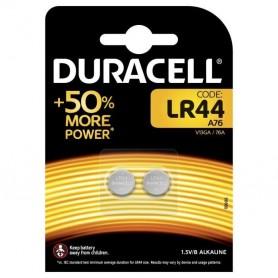 Piles Duracell LR44 Lot de 2