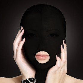 Cagoule Submission Mask Noir Ouch