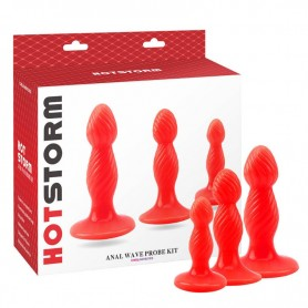 Set 3 Plugs Anal Hot Storm Chisa Novelties