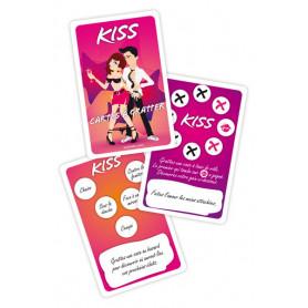 Jeu Coquin Cartes à Gratter Kiss