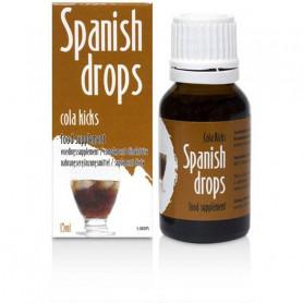 Stimulant Sexuel Mixte Spanish Drops au Cola
