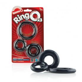 Anneaux Péniens RingO x3 ScreamingO