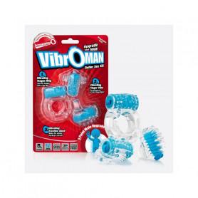Kit Better Sex Bleu Vibroman ScreamingO