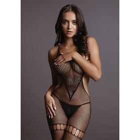 Bodystocking Sexy Résille Noire Le Désir
