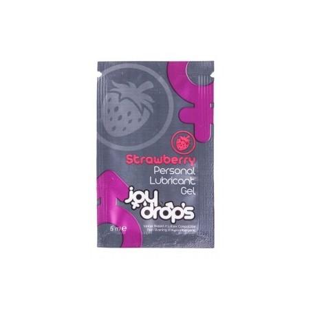 Lubrifiant comestible Fraise JoyDrops Dosette