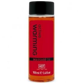 Huile de Massage Chauffante Active Warming Hot