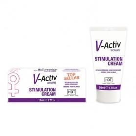 Crème stimulante V-Activ Woman