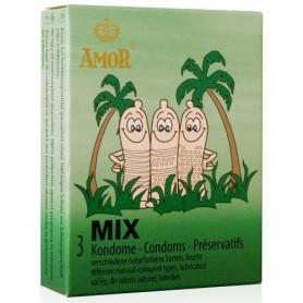 Préservatifs Mix Boîte de 3