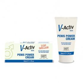 Crème Pénis Power V-Activ Man