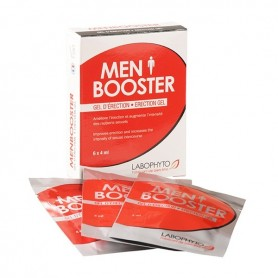 Gel d'érection MenBooster Dosettes Labophyto