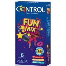 Préservatifs Fun Mix x6