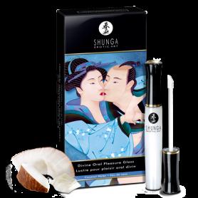 Gloss Plaisir Oral Divin Shunga Eau de Coco