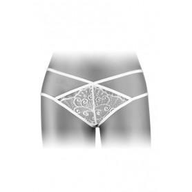String Ouvert Mylène Blanc