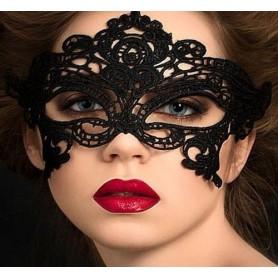 Masque Dentelle Noire Libertine