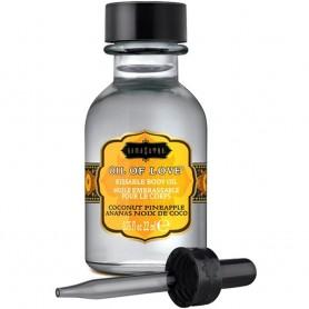 huile de massage comestible pour jeu coquin couple