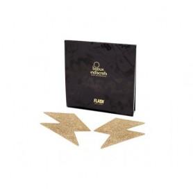 Bijoux de Seins Gold Flash