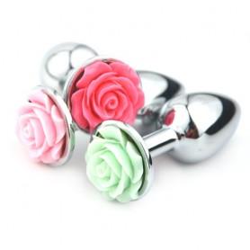 Plug Anal Bijou Fleur de Rose Small