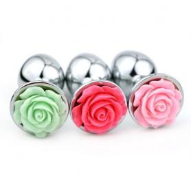 Plug Bijou Fleur de Rose Medium