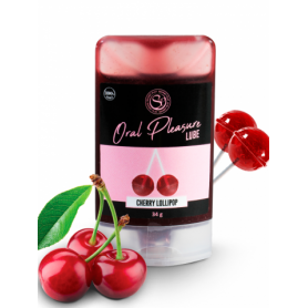 Lubrifiant Comestible Oral Pleasure Cerise