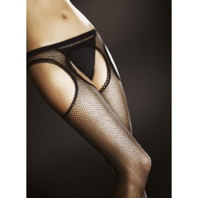 Collants Porte-Jarretelles Résille Passion Fiore